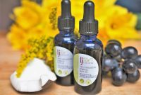 very sensitive organic face oil handmade organic beauty products