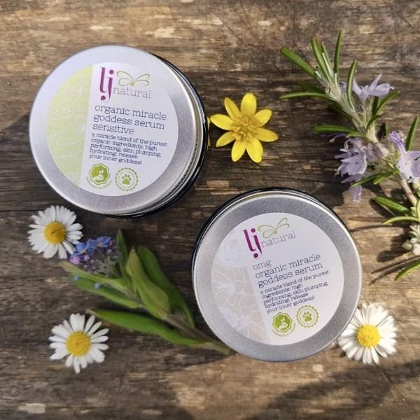 omg serum, award-winning natural and organic face serum handmade in small batches