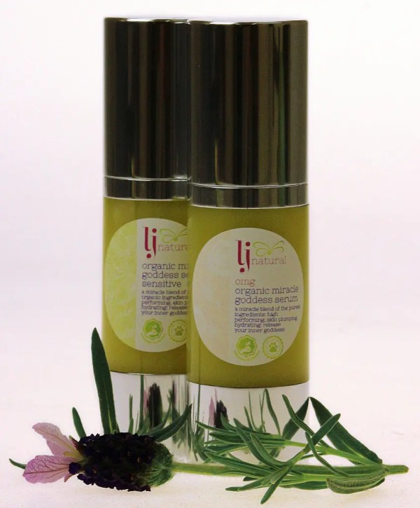 OMG serum sensitive and original natural organic beauty skincare UK
