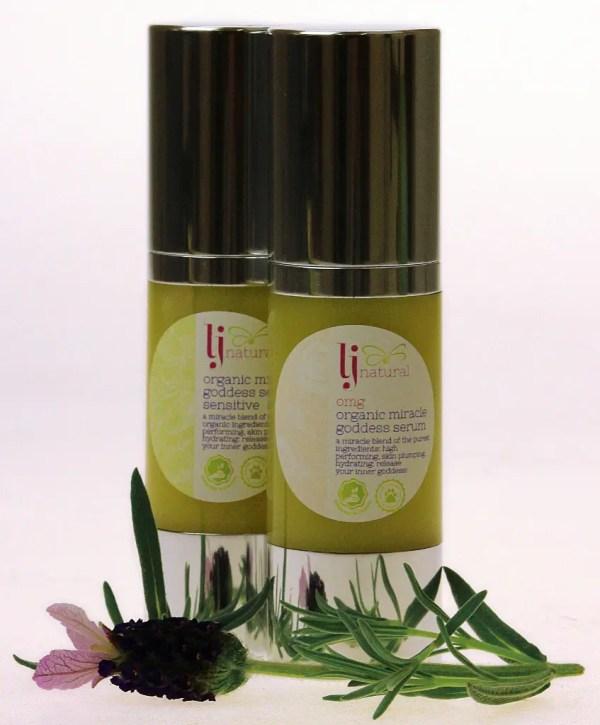 OMG serum sensitive and original natural organic beauty skincare UK