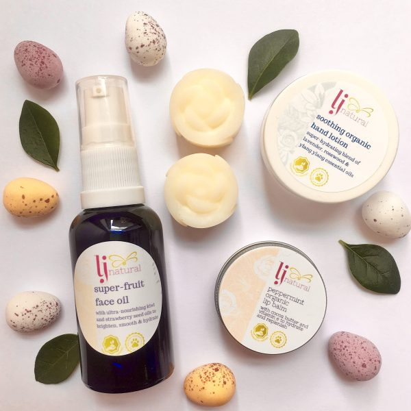 Easter Natural Beauty Gift Box handmade organic beauty products UK