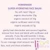 homemade hydrating face balm