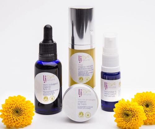 LJ Natural Organic Beauty Products UK
