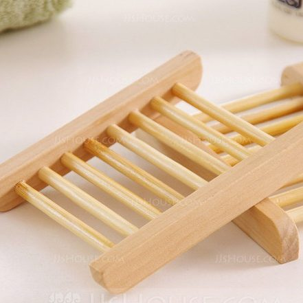 wooden soap holder for natural soap