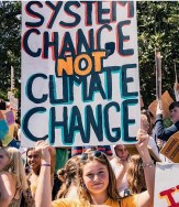 systemchange not climate change