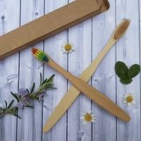 bamboo toothbrush adult child plastic free zero waste sustainable living