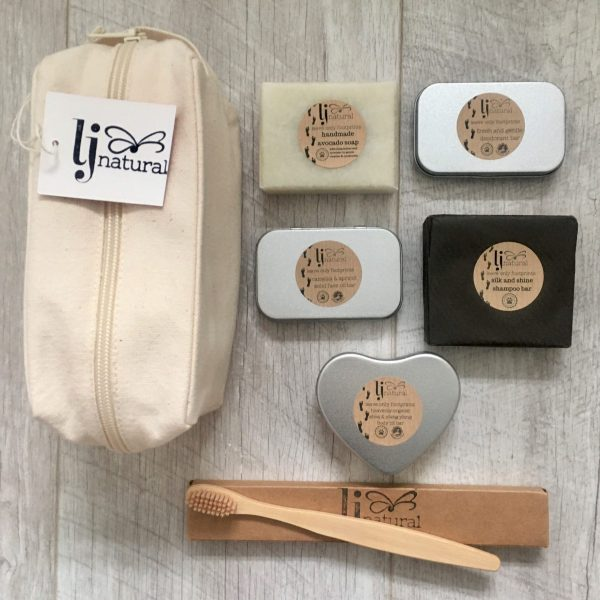 zero waste complete beauty kit handmade organic skincare also perfect for travel