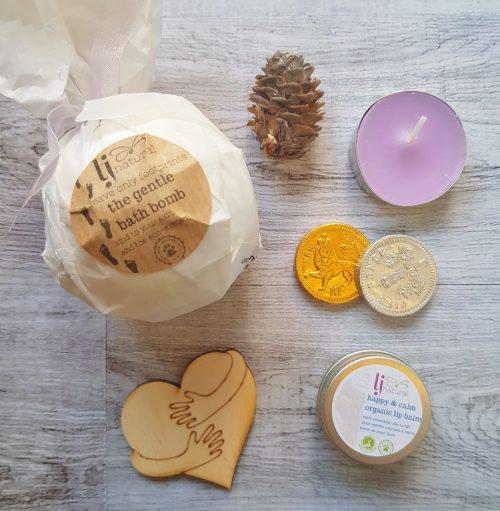 Secret Santa Box handmade sustainable organic aromatherapy skincare