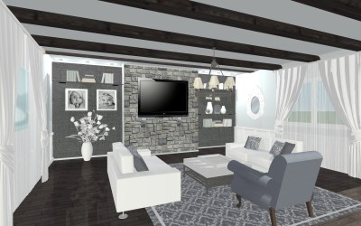 """Allis"" eDesign Living Room"