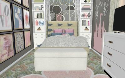 Emilia 3D Room Design