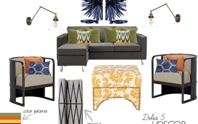 SHOP THIS LOOK | DELIA 5 © LJDECOR