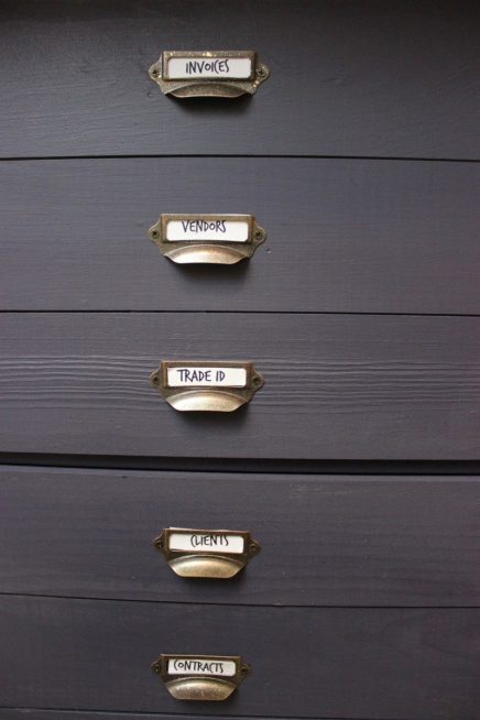 DIY Filing Cabinet Makeover