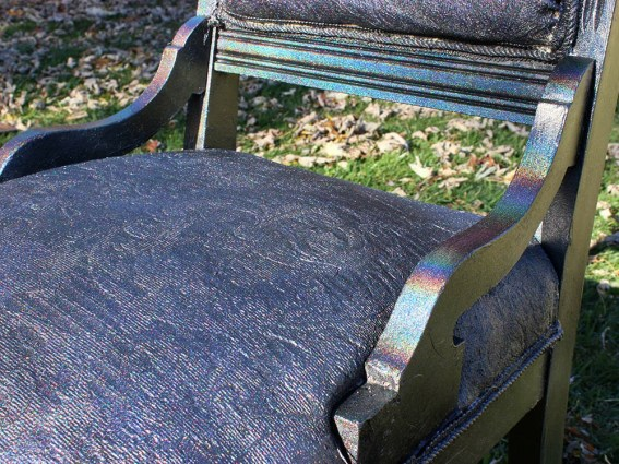 DIY HOLOGRAPHIC CHAIR