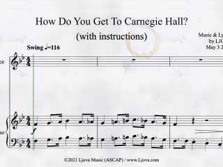 New Video: How Do You Get to Carnegie Hall? (song by Ljova)