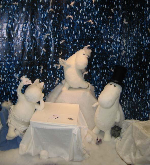 Moomin Family in Moscow Fair 2007