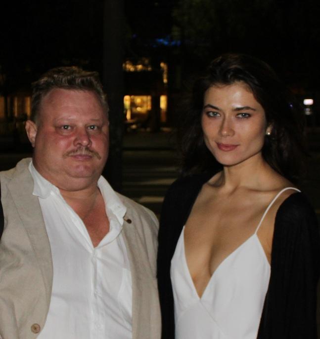 Шурыгин с исполнительницей главной женской роли