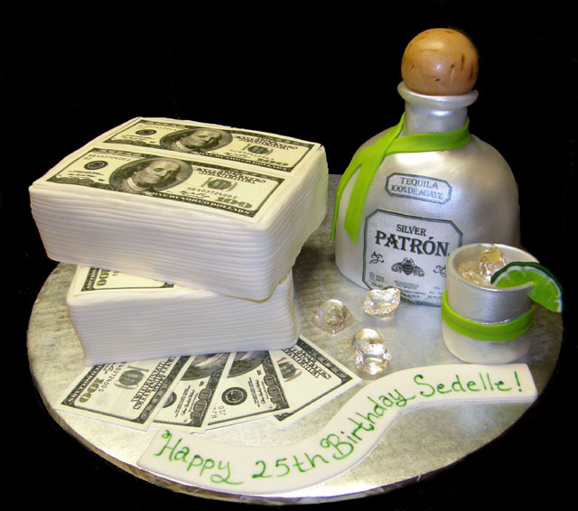 Money Beverage Cakes Lj Sweets Designs