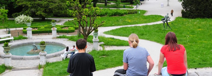 Tivoli Parken i Ljubljana
