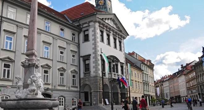 Rådhuset i Ljubljana