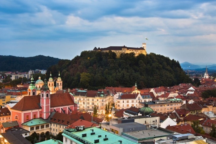 Visit the city of LJubljana