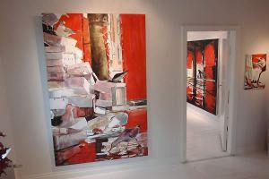 Anders Sköld visar sina verk på Galleri Lyckorna med början 30 juli.