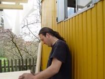 Arbeiten am Baum 23.04.2005 - 24