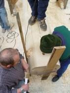 Arbeiten am Baum 23.04.2005 - 45