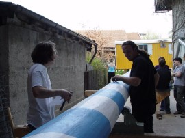 Arbeiten am Baum 30.04.2005 - 16