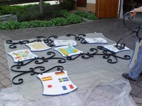 Arbeiten am Baum 30.04.2005 - 22