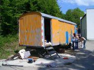Bauwagen Herrichten 21.5.2005 - 03