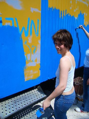 Bauwagen Herrichten 21.5.2005 - 07