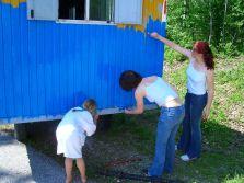 Bauwagen Herrichten 21.5.2005 - 17