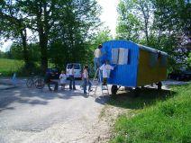 Bauwagen Herrichten 21.5.2005 - 22