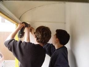 Bauwagen Herrichten 26.03.2005 - 23