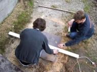 Bauwagen Herrichten 26.03.2005 - 90