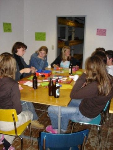 Huettenwochenende 21.10.2005 - 75