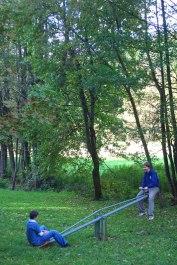 Huettenwochenende 22.10.2005 - 006