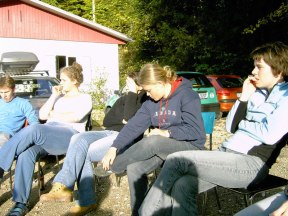 Huettenwochenende 22.10.2005 - 084