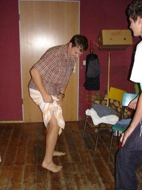Huettenwochenende 22.10.2005 - 087