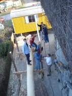 Maibaum Dachbau 04.04.2005 - 20