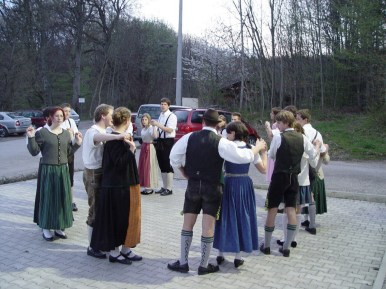 Tanzprobe 28.04.2005 - 01
