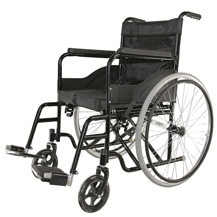 Image of: Four Wheel Disabled And Older People Suitable Foldable Manual Wheelchair Topmedi Company Limited China Disabled And Older People Suitable Foldable Manual Wheelchair