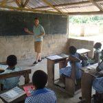 weltwärts// 1. Zwischenbericht: Ghana – Christ Academy Fodome Helu // Fabio Banet