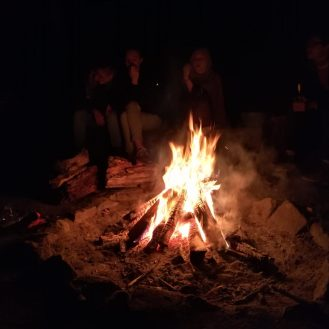 Lagerfeuerabend