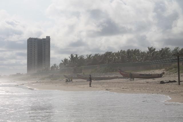 Strand in Accra, Ghana
