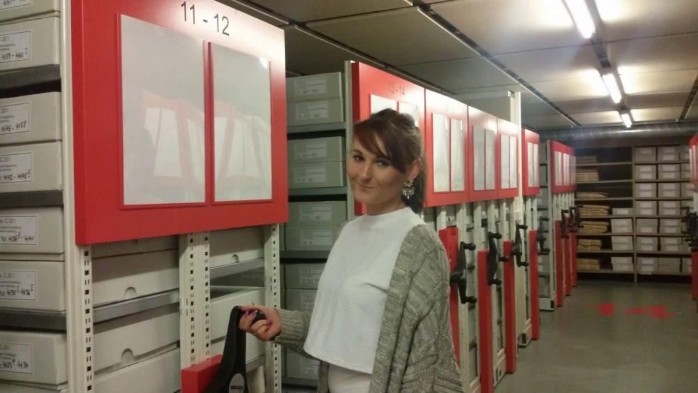 Vanessa im Landesarchiv