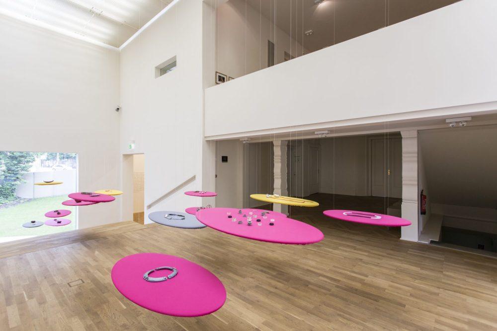 Blick in die Räume der Kunststiftung des Landes Sachsen-Anhalt