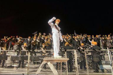 LHS Drum Major Alexander Bush