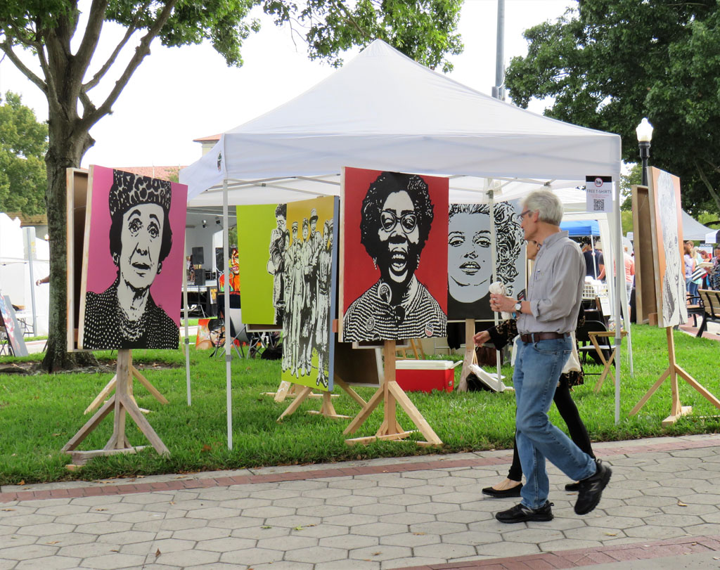 Gene Gray, artist, Tampa