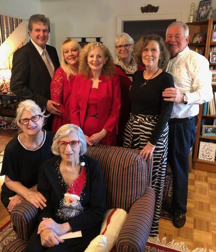 Nancye Thornberry and family